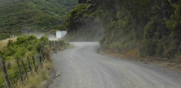 how to make road gravel