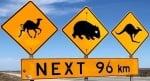 camels-wombats-kangaroo-crossing-sign-australia