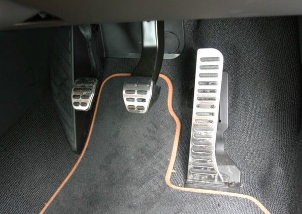 Audi TT-S pedals