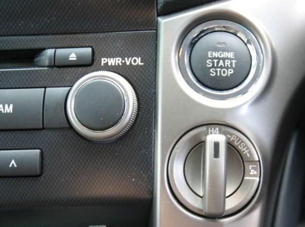 Toyota Land Cruiser 200 VX Ltd start button