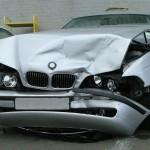 Smashed BMW