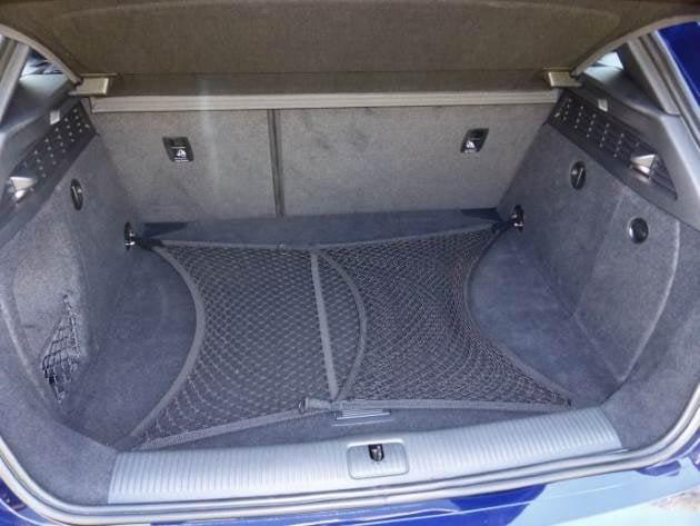 Audi S3 cargo net in the boot
