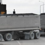 Cover empty trailers to improve aerodynamics
