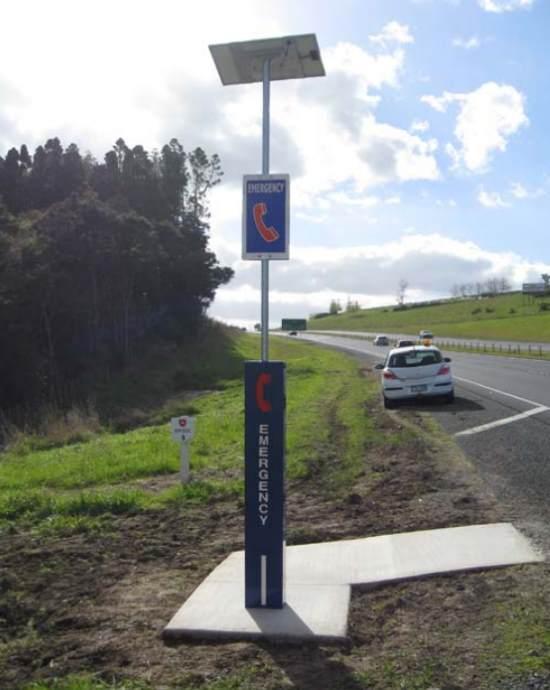 motorway emergency phone