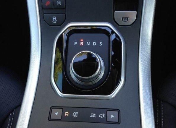 Range Rover Evoque gear dial