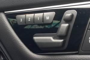 seat adjustment mercedes benz