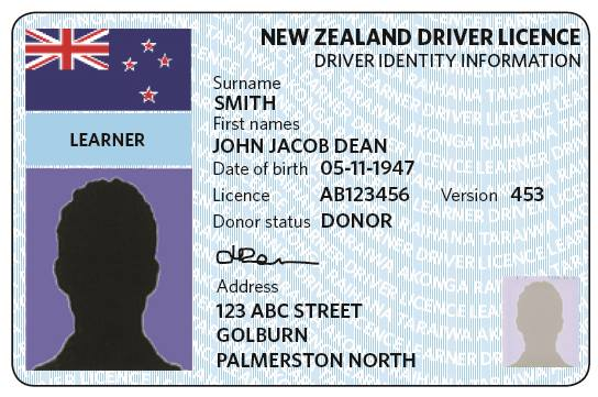 learner licence status