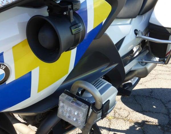 police motorbike front siren 2
