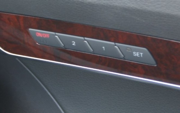 seat memory buttons