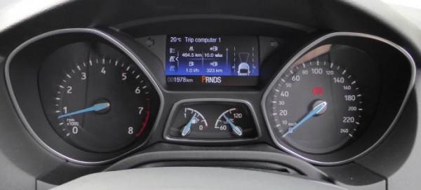 Ford Focus Titanium 2015 instrumentation