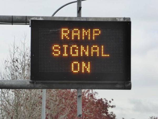 ramp signal on