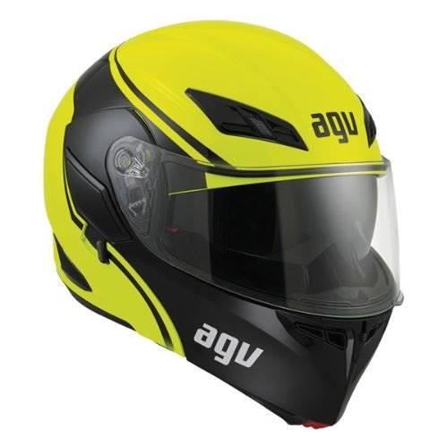 high visibility motorbike helmet