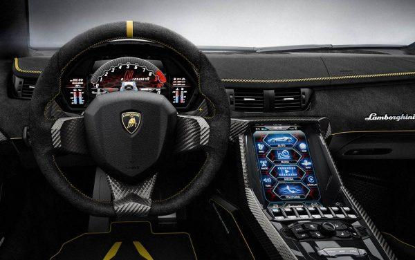 2016 Lamborghini Centenario interior