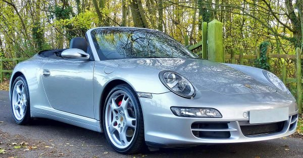 Convertibles like this Porsche are much more appealing when the weather is warm