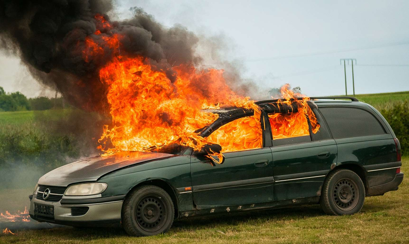 do you need to carry a fire extinguisher in a company vehicle